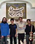 هاشم شریفزاده - ملک - امین شیخ محمدی (پسر شیخ) - آرش فرهنگفر